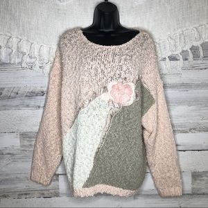 Vintage unique retro sweater